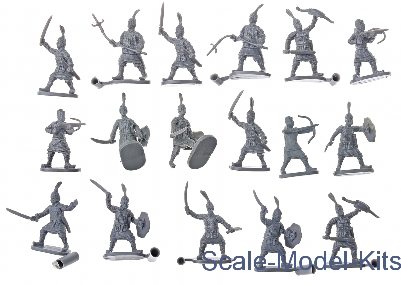 Caesar Miniatures H043 1:72 Chinese Han Dynasty Troopers