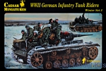 CMH079 German infantry tank riders, winter, set 2