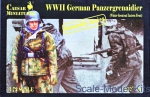 WWII German: 1/72 Caesar Miniatures M7714 - German Panzergrenaidier (Winter Greatcoat Eastern Front), Caesar Miniatures, Scale 1:72