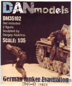 DAN35102 German tankers. Evacuation 1940-43, set 2