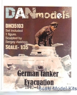 DAN35103 German tanker. Evacuation 1940-43. set 3
