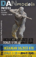 DAN35154 Ukrainian soldier 2014-2017. Ukraine. ATO, set #5 (resin)