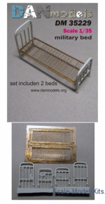 DAN35229 Military bed, 2 pcs.