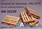 DAN35230 Set of veneer for assembly of pallets, 4pcs