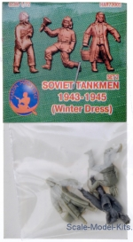 HAR72005R Soviet tankmen (Winter Dress) 1943-1945, set 2
