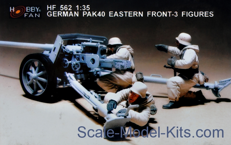 German Pak 40 Eastern front (resin)