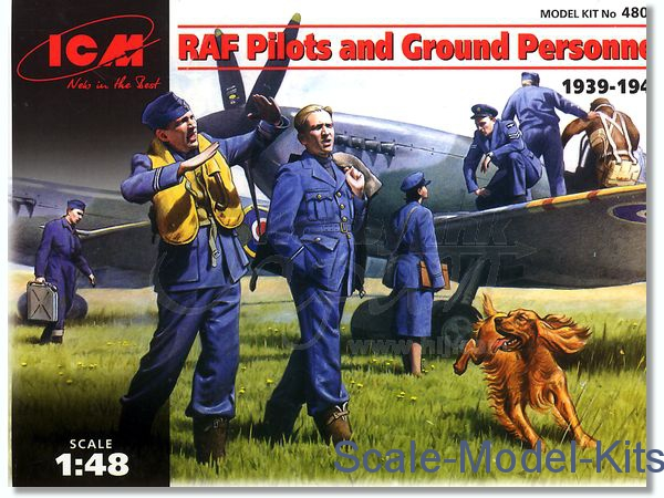 WWII RAF pilots and ground personnel