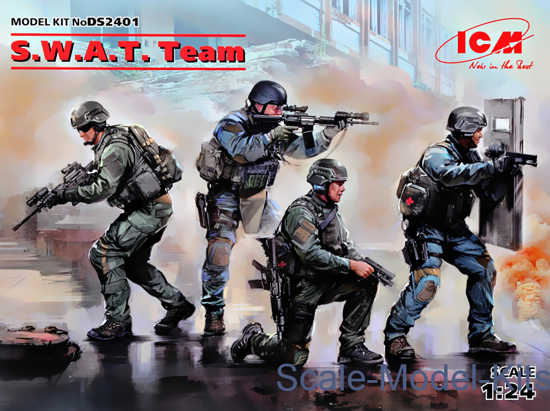 S.W.A.T. Team (kits for dioramas)
