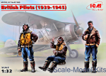 ICM32105 British Pilots (1939-1945) (3 figures)