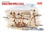 ICM35564 Indian Sikh Rifles (1942) (4 figures)