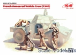 ICM35615 French armored car crew, 1940 (4 figures)