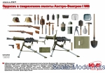 Detailing set: WWI Austro-Hungarian infantry weapon and equipment, ICM, Scale 1:35
