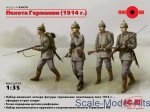 ICM35679 WWI German infantry, 1914
