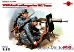 ICM35697 WWI Austro-Hungarian MG Team