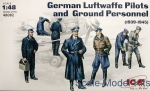 ICM48082 WWII German Luftwaffe Pilots and Ground Personnel