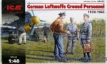 ICM48085 WWII German Luftwaffe Ground Personnel, 1939-1945