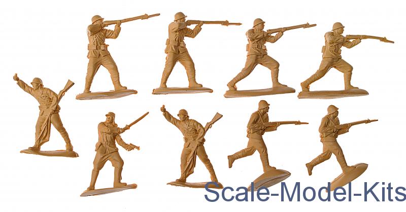 Mars Figures MS32015-1:32 WWII Japanese Infantry Neu