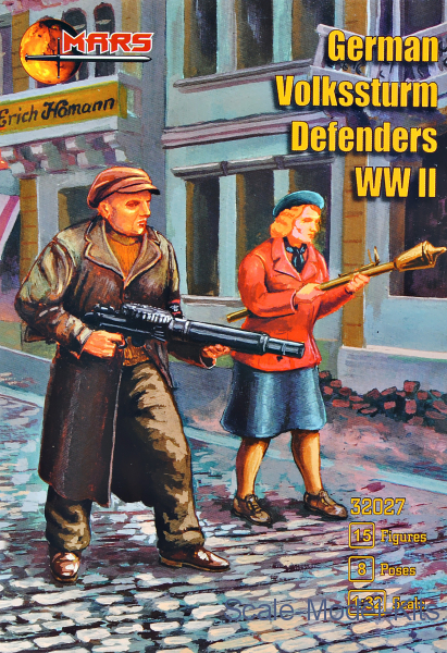 German Volkssturm Defenders (WWII)