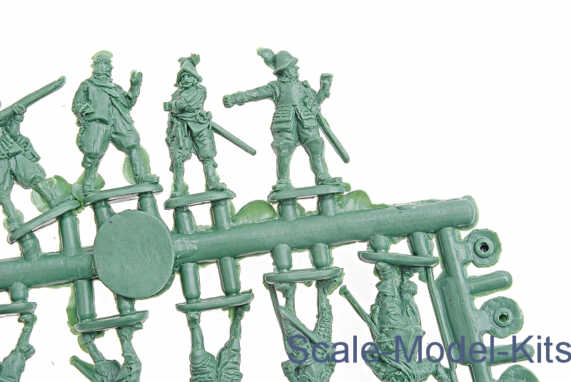 Spanish Tertia, Thirty Years War-Mars Figures plastic scale