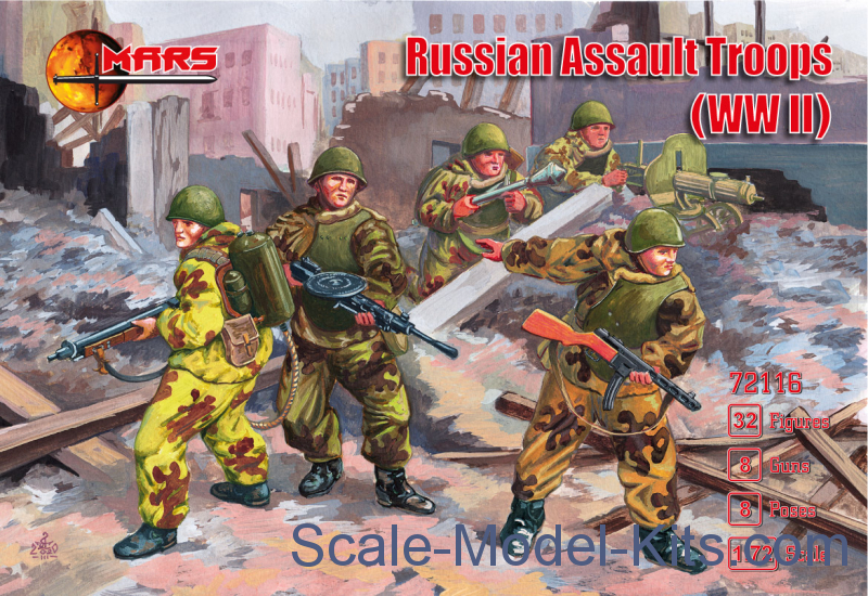 Russian Assault Troops (WWII)