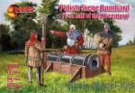 Knights (middle ages): Polish siege bombard (1-st half of the XV century), Mars Figures, Scale 1:72