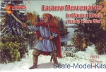 Knights (middle ages): Eastern mercenaries in winter dress, Thirty Years War, Mars Figures, Scale 1:72