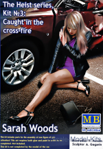 "MB24066 ""The Heist series, Kit №3: Caught in the cross-fire. Sarah Woods"""