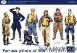 MB3201 Famous pilots of WWII. kit 1