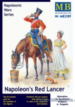MB3209 Napoleon's Red Lancer, Napoleonic Wars Serie