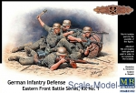 WWII German: German infantry defense, Eastern Front, kit 1, Master Box, Scale 1:35