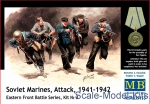 MB35153 Soviet marines, Attack, 1941-1942. Eastern Front, kit 3
