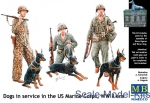 MB35155 Dogs in service in the US Marine Corps, WW II era