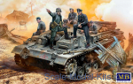 MB35208 German crew of armored vehicles WWII