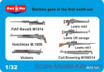 MM32-003 Machine guns of the first world war