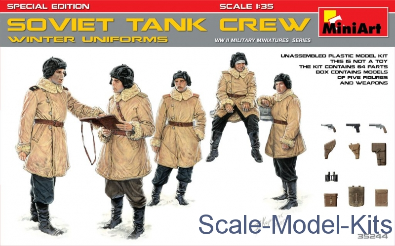 Soviet tank crew (winter uniforms) Special edition