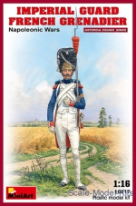 MA16017 Imperial guard French grenadier. Napoleonic Wars