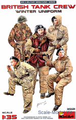 MA35121 British tank crew, (winter uniform)