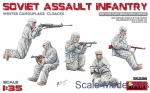 MA35226 Soviet assault infantry (winter camouflage cloaks)