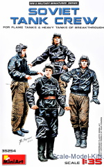 MA35254 Soviet tank crew (for Flame Tanks & Heavy Tanks of Breakthrough)