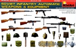 MA35268 Soviet infantry automatic weapons & equipment. Special edition