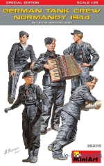 MA35275 German tank crew, Normandy 1944. Special edition
