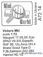 MINI7214 Vickers Mk I machine-gun