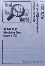 MINI7232a 1/72 Mini World 7232a - M 240 D,C