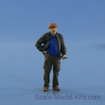 NS-F-43017-p Resin figure of mechanic (driver), type 4