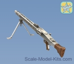 NS35077 German MG-42 Machine Gun (2 pcs), Resin set