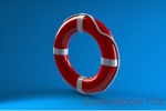 NSA350505 Life buoy from plastic
