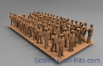 NSA350520 Soviet Navy 1939-1942 figures in working position, type 1