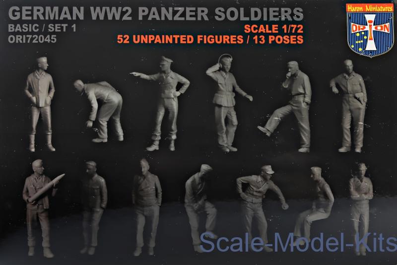 1:72 Orion ORI72045 German WW2 Panzer soldiers