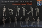 ORI72045 WWII German panzer soldiers, set 1