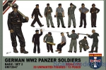 ORI72047 WWII German panzer soldiers, set 2